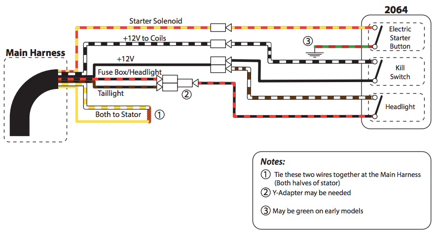 Common Motorcycle Wiring Diagram : Motorcycle kill switch wiring diagram